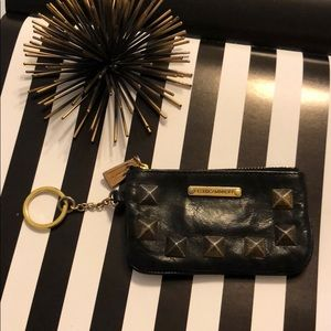 Rebecca Minkoff Black Studded Coin Purse